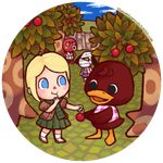 Abbey's Orchard by Huffie