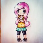 Just Another Fluttershy by gummigator