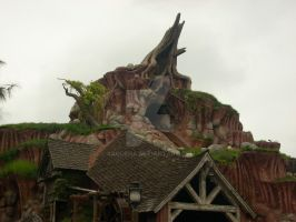 Splash Mountain by Saquena