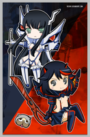 Kill la Kill by tachiik