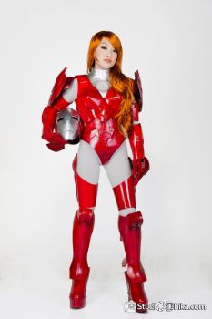 Virginia Pepper Potts Mark 1616 Cosplay by VampBeauty