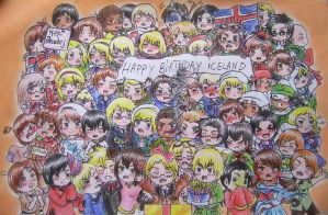 Hetalia: Happy Birthday Iceland! by WildBerry83
