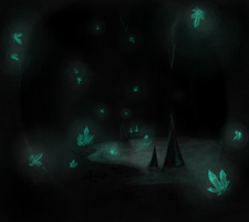 Dark Diamond Caves by LusitanianDavid