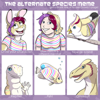 Alternate Species Meme - Snits by twapa