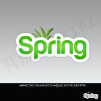 Spring_Logo by Ambrozial