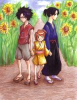 Samurai Champloo Kids by d00li