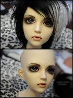 Face-up: Migidoll Jina - 3 by asainemuri