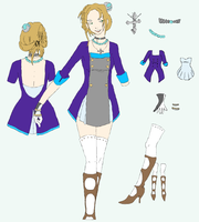 Character Concept  -  Nefret by refia