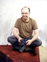 PS2 Guy Sitting : 21 by taeliac-stock