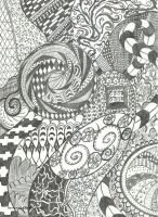 ~ Zentangle ~ by LiseWasTaken