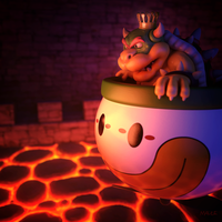 Bowser by JoshMaule