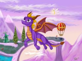 Flight in the Magic Crafters World by Fur-kotka