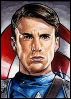 CAPTAIN AMERICA by S-von-P