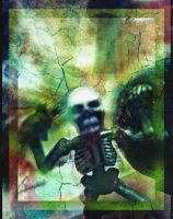 Skeleton Undead Reanimated Damned Warrior For Ever by MushroomBrain