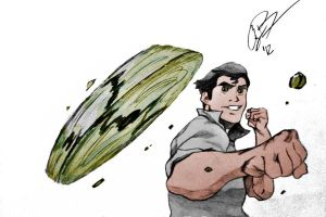 Bolin (Avatar: The Legend Korra) color by CodyBad