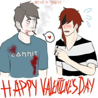 Happy V Day YukiMiyasawa by GrimathyGunn