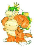 King Koopa SMBSS: Now kolored by Beau-Skunk
