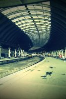York Station by sicklittlemonkey