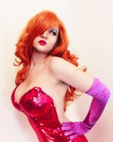 Jessica Rabbit by ZeroFoxCosplay