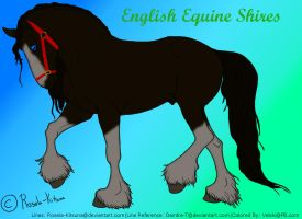 Shire-For English Equine Shires of PB by XtremeMystery