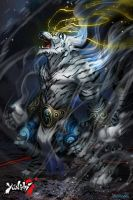 Yanshi: Tiger Shadow Beast 1 by dinmoney