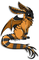 Greater Draco Lepus: Glit by Kuro-Creations