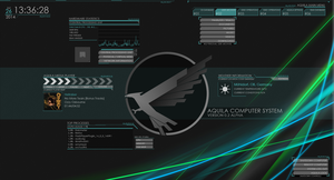 Aquila Preview [Rainmeter] by Freaky333