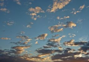 Stock Image - Cloudy Sunset - 03 by Life-For-Sale
