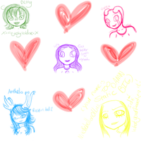 Does this count as a sketch dump? Sketch gifts? :D by invaderMaythe1st
