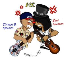 Tom VS Slash - Your opinion by LxiArt