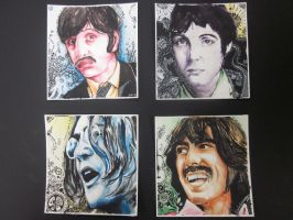 The Beatles by OnllyOne