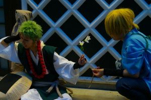 GrandZipang Zoro and Sanji by momo1132