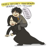 HP-potter's new broom by koenta
