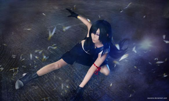 Tifa - Like a Raven by vaxzone