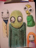 Salad Fingers and Friends by pink12301