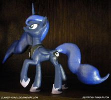 Princess Luna 3D Print by Clawed-Nyasu