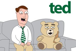 Ted - Family Guy Style by LoganM1988