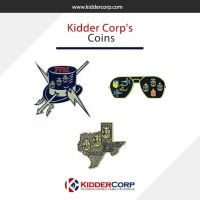 Order your Challenge coin at KidderCorp. by kiddercorp