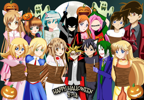 .: Happy Halloween 2014 :. by Sincity2100