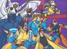 90's X-Men by RobertMacQuarrie1