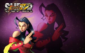 Rose Street Fighter Wallpaper by 1kamz