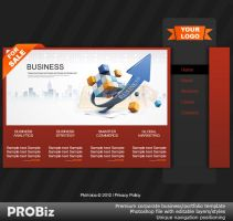 Premium Photoshop Web Templates-For Sale by send2owais