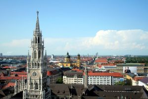 View over Munich by elolitta