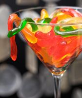 Gummy Worm Martini by BryPhotography