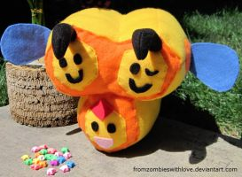 Combee Poke-plush by fromzombieswithlove