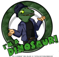 Rob Walker Is A Dinosaur! by Arbok-X