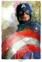 Captain America (Avengers Collection) by j2Artist