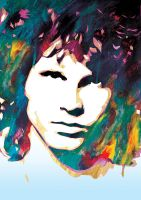 Jim Morrison by daddycool