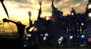 Guild Wars 2 - Charr Territory by HappyKnight