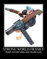 Franky Gun Motivational by SolidSnakeTSF
